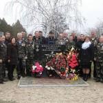 Відкриття меморіального знаку воїнам-афганцям