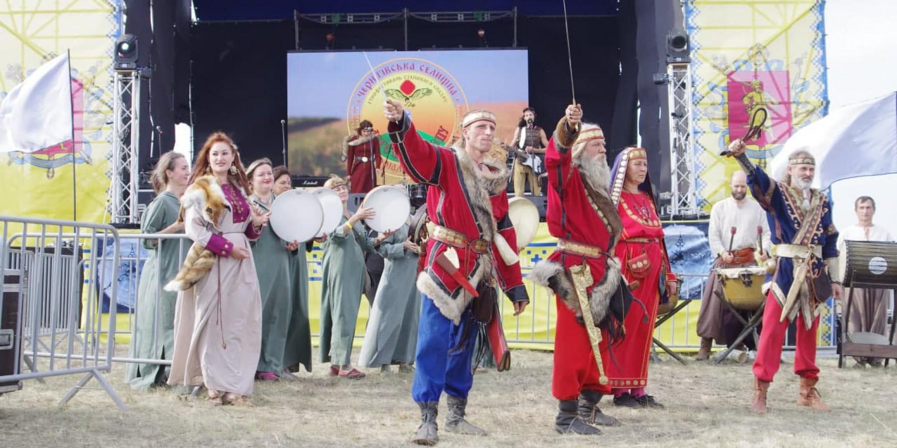 У Чернігівській громаді відбувся Другий відкритий фестиваль степового спадку «Легенди степу»