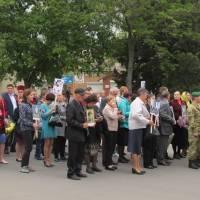 Урочистий мітинг, присвячений 74-ій річниці Перемоги над нацизмом