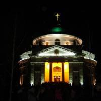 Свято-Миколаївська церква під час Великодня (Пасхи)