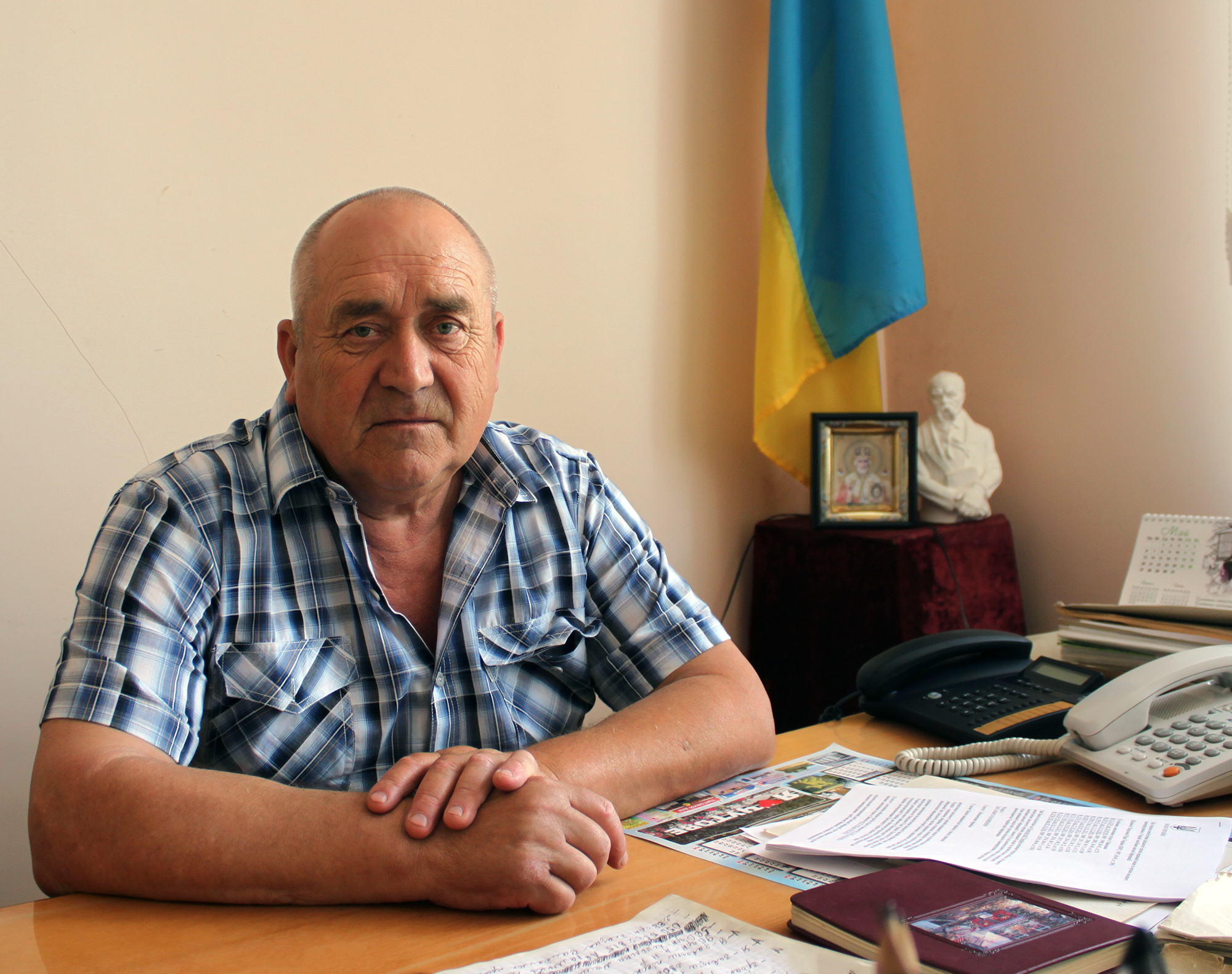 Корольов Микола Павлович, Чутівський селищний голова