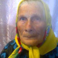 Найстарша жителька села Стрілка Катерина Несторівна