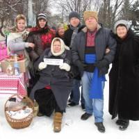 Ми-учасники різдвянських свят у районному центрі