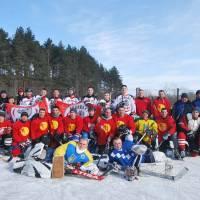 Хокейний матч між «Касатки» Сенча і «Кабани»  Гадяч