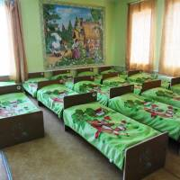 Спальна кімната в дитсадку