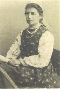 Українська письменниця Олена Пчілка