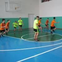 Проведено змагання юнаків  з баскетболу в залік міської Спартакіади школярів