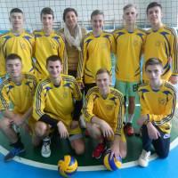 Проведено змагання юнаків  з волейболу в залік міської Спартакіади школярів