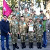 Гадячани – учасники обласної військово-патріотичної гри «Петлюрівський вишкіл – 2018