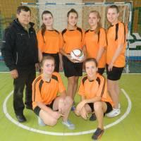Проведено змагання дівчат з футзалу, в залік міської Спартакіади школярів
