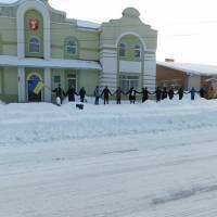 Заклади культури і туризму Гадяцької міської ради прийняли участь в урочистостях з нагоди відзначення Дня Соборності України