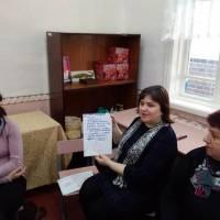 Проведено тренінгове заняття для практичних психологів та соціальних педагогів міста Гадяча та Сергіївської ОТГ «Психологічна допомога в кризових ситу