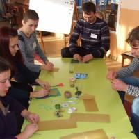 Проведено друге засідання творчої групи для практичних психологів та соціальних педагогів міста Гадяча та Сергіївської ОТГ «Використання арт-технік в