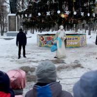 Новорічну ялинку в Гадячі відкрито