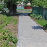 тротуарна доріжка по вул. Полтавській