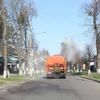 Дезінфекція вулиці Гетьманської