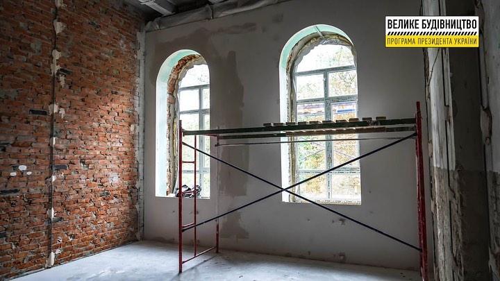 Реконструкція будівлі школи №1 ім Панаса Мирного