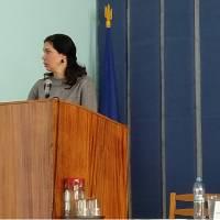Оксана Черкас - керуюча справами виконавчого апарату Полтавської обласної ради