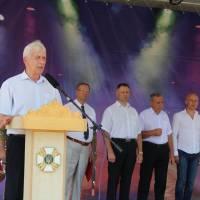 Привітання голови районної ради Яринича Л.М. особового складу територіального вузла урядового зв'язку