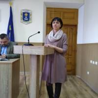 Начальниця відділу освіти Світлана Овсяннікова інформує про організацію харчування дітей