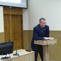 Виконувач обов'язків голови РДА Віктор ФЕСЕНКО презентує програму економічного і соціального розвитку району на 2020 рік