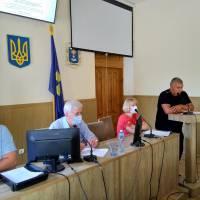 Звіт голови земельної комісії В.Данилевського
