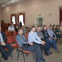 Представники ОМС Волинської та Рівненської  областей під час зустрічі