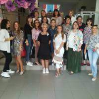 Учасники фестивалю з Оленою Токарєвою