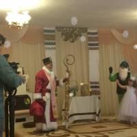 Свято до дня Святого  Миколая в старшій Б групі.