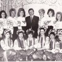 Вокально - танцювальна група садка, 1992 р.
