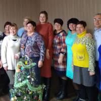 Виконком Першотравневої сільської ради та депутатьський корпус вітає усіх з Новим роком!