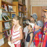 У сільській бібліотеці