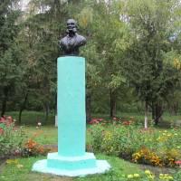 Пам'ятник-погруддя Л. І. Глібова, парк ім. Глібова