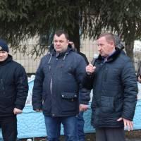 До учасників проекту та присутніх звертається голова районної ради Віктор Юрченко