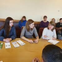 Грудень 2019, семінар із учителями в рамках  Всеукраїнського тижня права