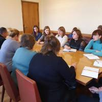 Грудень 2019, семінар з учителями в рамках Всеукраїнського тижня права