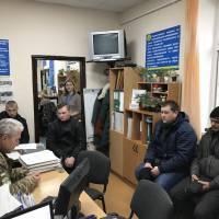 27.11.2019, військовий комісар Ігор Співак виступає перед слухачами