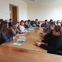 Грудень 2019, семінар із вчителями в рамках Всеукраїнського тижня права