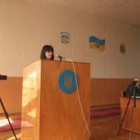 28 позачергова сесія, бюджетні питання. Начальник фінуправління Людмила Маркова