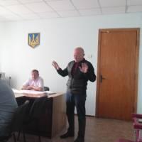 22.05.2019, начальник райвідділу Держгеокадастру Леонід Кулініч