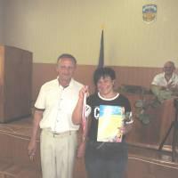 29 сесія 25.06.19 вручення спортивної нагороди Тетяні Тарапунець
