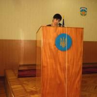 29 сесія,   інформує Людмила Лопата
