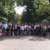 учні Новоаврамівської гімназії