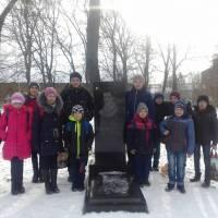 Учні Ковалівської школи відвідали могилу Л.І.Боровиковського