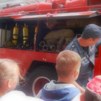 Екскурсія в Хорольське пожежне депо