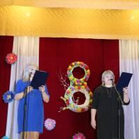 Святковий концерт 8 Березня Покровськобагачанського будинку культури