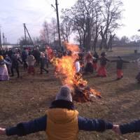 Святкування Масляної у селі Недогарки, 2018 рік