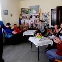 Засідання жіночого клубу у сільській бібліотеці с. Недогарки 01 квітня 2018 року