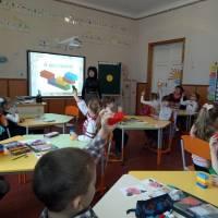 Уроки у першому класі Недогарківського ліцею, 2019 рік