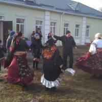 Народні гуляння на святі Масляної у селі Недогарки, 2018 рік